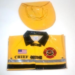 Avon NEW Fire Chief CostumeSize 2T/3T